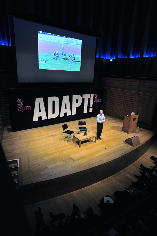 APM Conference 2013: Adapt! [Video]