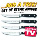 There are no free steak knives