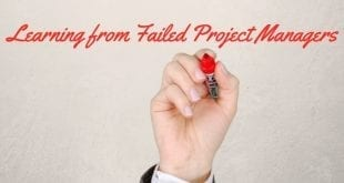 Learning from failed Project Managers